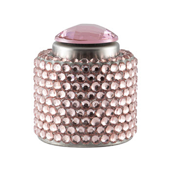 Wine Stoppers Crystal Diamante Champagne Stopper Pink
