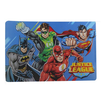 Zak Justice League Placemat 44.8 cm x 28.5 cm