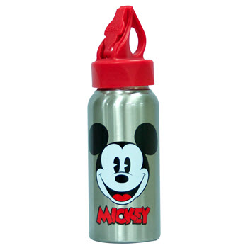 Zak Mickey Mouse Drink Bottle 473ml Stainless Steel
