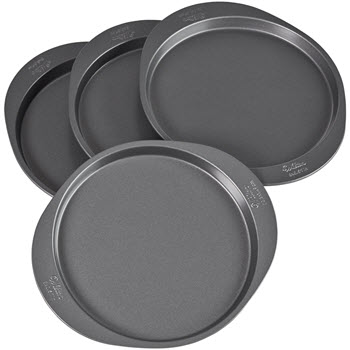 Wilton 8 Inch 4pc Easy Layer Cake Pan